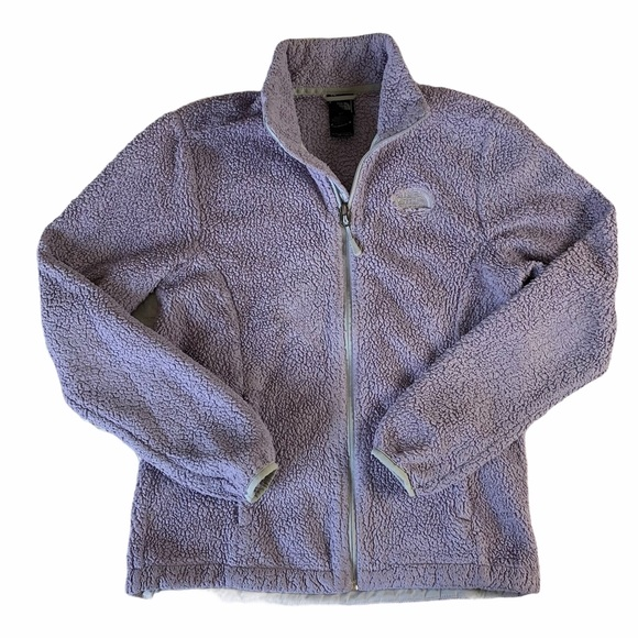 North Face Jacket | North Face Zip-Up Fuzzy Jacket